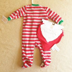 Carter's Matching Sets - Nwt Just one you by carters Reindeer santa bib set